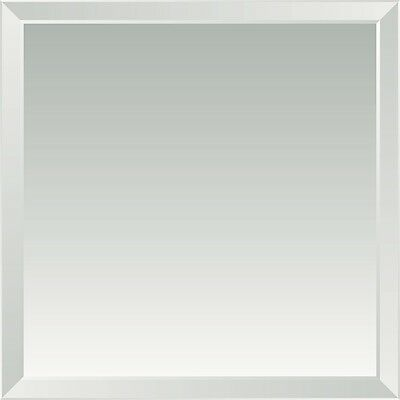 Bevel Edge Bathroom Glass Mirror 1200*800 Mm,6Mm Thickness