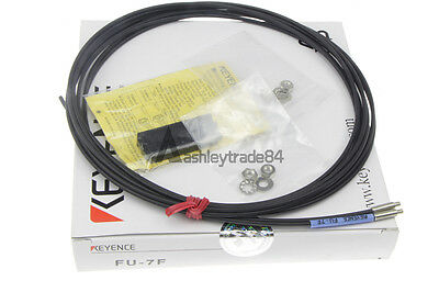 New Keyence Fiber Optic Cable Sensor Fu-7F Fu7F