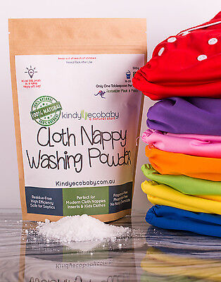 Organic Washing laundry detergent, Concentrated Biodegradable, cloth nappy 2.5kg