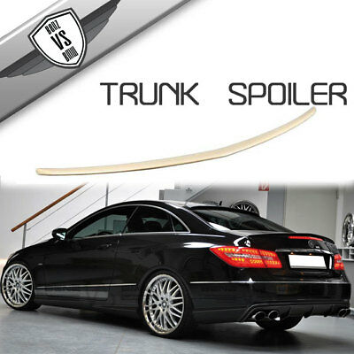 Fit 10-17 Benz W207 C207 2Dr Coupe E Class Trunk Spoiler ABS
