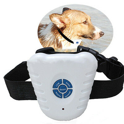 Ultrasonic Pet Cat Stop Barking Training Trainer Device Collar No Harm To Dogs