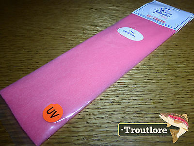 Ep Fibers Salmon Pink Enrico Puglisi - New Fly Tying Wing & Body Material