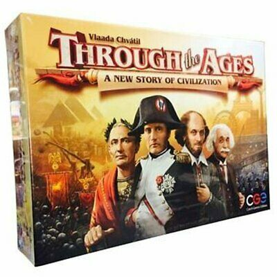 Through The Ages A New Story Of Civilization #2 on Boardgamegeek