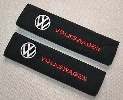 Car Seat Belt Shoulder Pads Covers Cushion For Volkswagen VW NEW