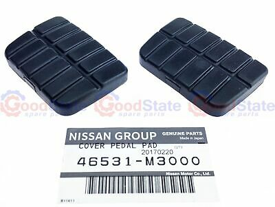 Genuine Nissan Navara D21 D22 Clutch and Brake Pedal Rubber 2pcs