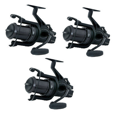 Fox Eos 12000 FS Big Pit Reel x3 *Brand New 2017* FREE Next Day Delivery
