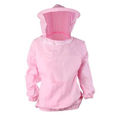 Veste Anti Abeille Equipement de Protection Apiculture Rose