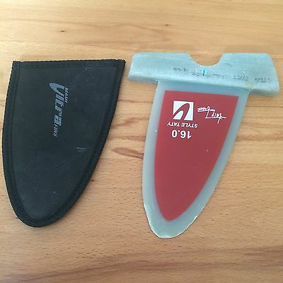 Maui Ultra Fins Taty Style 16cm Power Box Windsurf Freestyle Finne