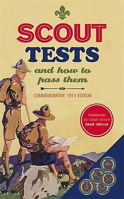 Scout Tests and How to Pass Them (Scout Association) - Hardcover - Brand New