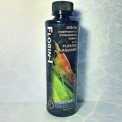 Brightwell Aquatics Florin I Iodide Supplement To Encourage Exoskeletal Molting