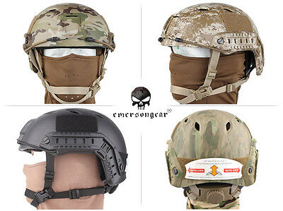 Emerson Base Jump Type Fast Helemt Airsoft Hunting Combat Tactical Helmet