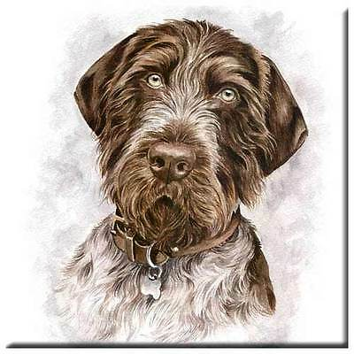 "German Wirehair Pointer 4"" Tile"