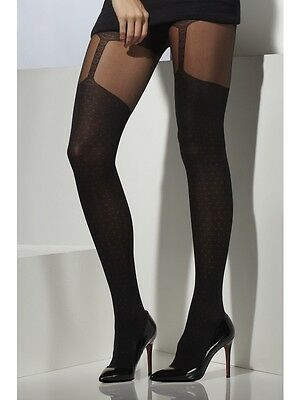 Sexy Black Stocking Tights Ladies Fancy Dress Party Costume Accessory