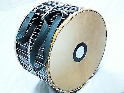"""Abod :: 24 """" Turkish  Percussion  Quality Goat Leather  Drum Davul W/  Light"""