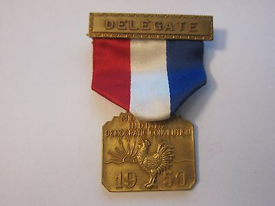 1950 INDIANA DEMOCRATIC STATE CONVENTION DELEGATE BADGE  LOTS More Listed