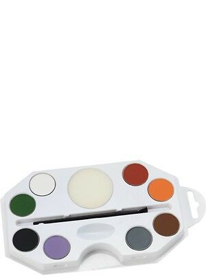 SALE! Halloween Face and Body Paint Kit Fancy Dress Costume Party Accessory