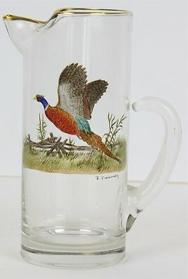 """""""Frank Vosmansky for Abercrombie & Fitch 'Pheasant' Pitcher"""""""