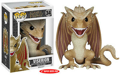 Game Of Thrones - Viserion 6 Funko Pop! Toy