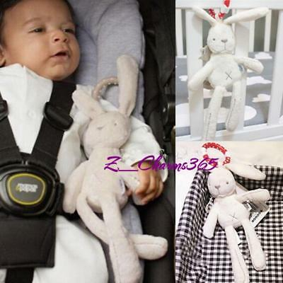Baby Infant Rattles Bed Plush Rabbit Stroller Pram Hanging Bell Soft Toy Doll JA