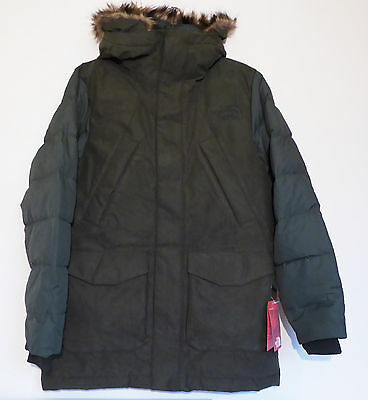 The North Face Men's DEGRAY PARKA 550-Fill Down Urban Coat Jacket Green M
