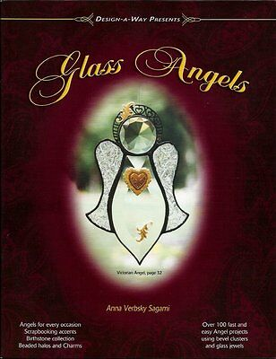 """""""Glass Angels"""" Stained Glass Pattern Book ~ Over 100 Angel patterns!"""