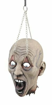 Hanging Dead Head With Chain Prop Room Decoration