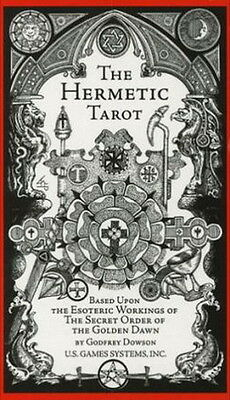 DECK: HERMETIC TAROT Wicca Pagan Witch Goth Psychic Occult
