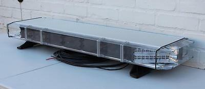 "Whelen 44"" Freedom amber LED lightbar roof flashing warning beacons"