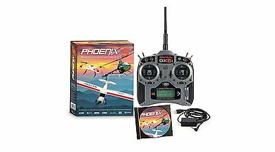 Phoenix R/C Pro Simulator V5.5 w/Spektrum DX6i Mode 2 RTM55R6630 Brand New