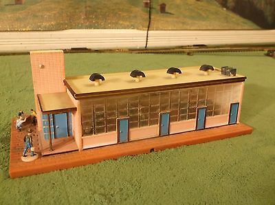NMINT Tyco Factory Train Track Railroad Accessory Building