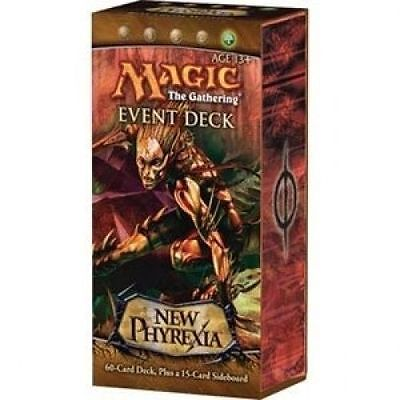 Magic the Gathering New Phyrexia Event Deck
