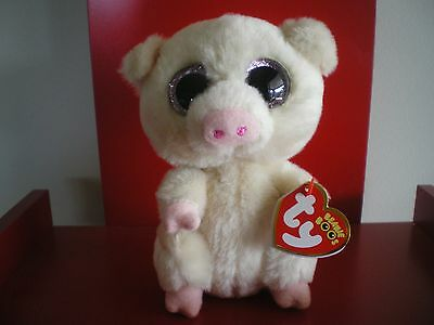 96089148963 TY BEANIE BOOS PIGGLEY the pig 6 inch NWMT - IN HAND NOW. -  13.00 ...