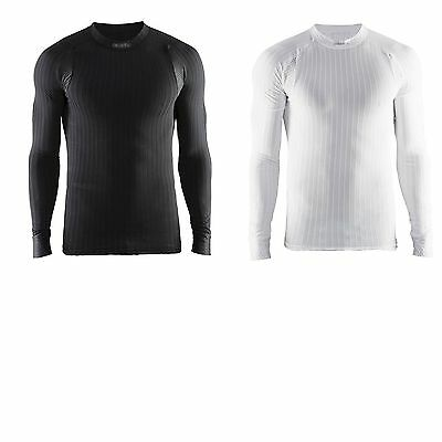 Craft Mens Cycling Active Extreme 2.0 Crew Neck Long Sleeve Base Layer