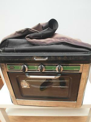 JACKEROO Portable CAMP Oven & STOVE Gas CS-01 with COVER Adelaide