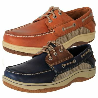 Genuine Sperry Men's Stain Water Resistant Leather Casual Yachting Boat Shoes