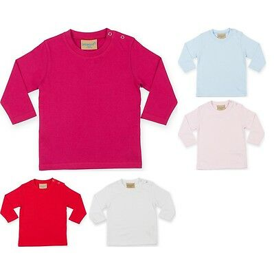 Baby Toddler Larkwood Long Sleeve Colour T Shirt Top