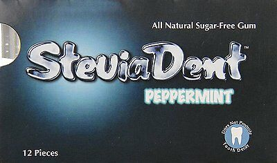 SteviaDent, Stevita, 12 pieces Peppermint