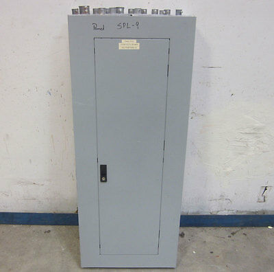 GE Electrical 225-Amp 38 Circuit Breaker Box Enclosure A Series PanelBoard 3-Ph