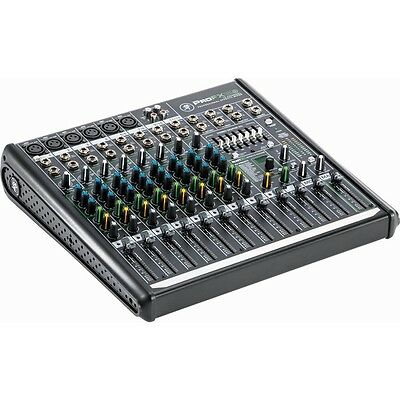 Mackie ProFX12v2 Professional 12 Channel USB Studio Live Sound Mixer/Mixing Desk