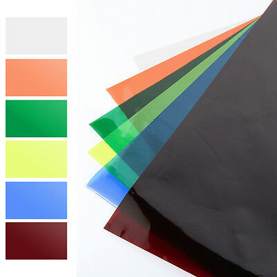"""PRIMARY Colors Lighting Filter Gel Sheets 16""""x20"""" For Video Camera Light Studio"""