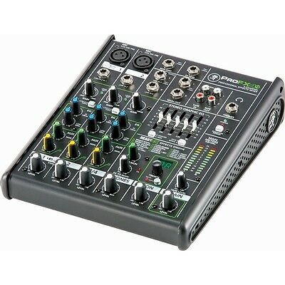Mackie ProFX4v2 Professional 4 Channel Live Sound Effects Mixer / Mixing Desk