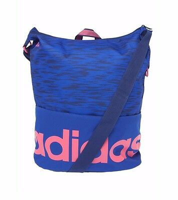 adidas Performance linear Tote Blue Graphic Womens Shoulder Bag RRP upto £35/-