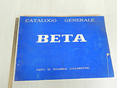 Catalogo Ricambi Originale Beta 1977 Motori 50 Mx5 Mx6 Tr Mx Tr4 Mx4 Etc Cross