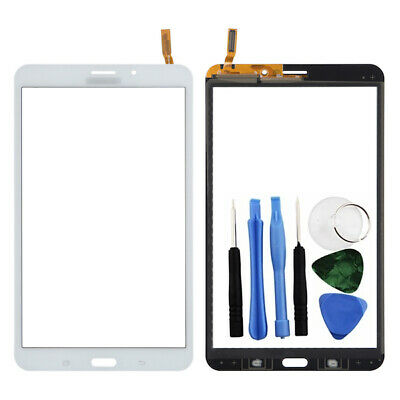 White Digitizer Touch Screen Display Part For Samsung Galaxy Tab 4 8.0 + Tools