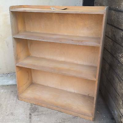 Reclaimed Set Of 4 Retro Leaning Shelves Graduated Bookcase