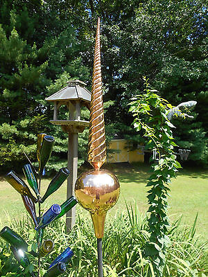 "36"" Copper Finial spire roof sculpture- handmade, big, and very attractive"