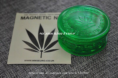 HERB GRINDER 2016 Normal Size HIGH QUALITY  Plastic Herb Grinder RASTA / JAMAICA