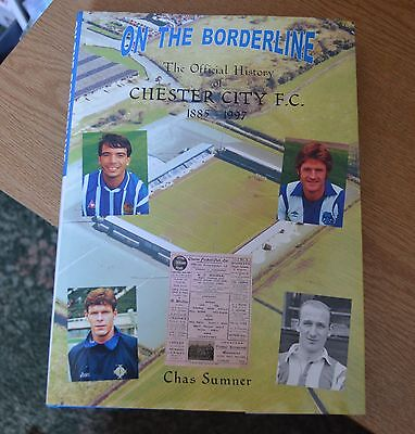 Chester City Fc Book On The Borderline