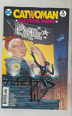 Dc Comics Catwoman Election Night #1 January 2017 1St Print Nm