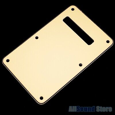 NEW - Vintage CREAM 3-Ply Back Plate Tremolo Cover for Fender Stratocaster Strat